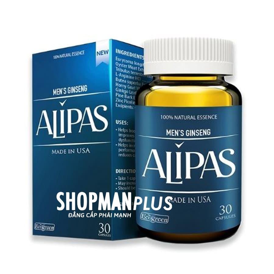 Sâm Alipas Platium mới - điều trị yếu sinh lý nam