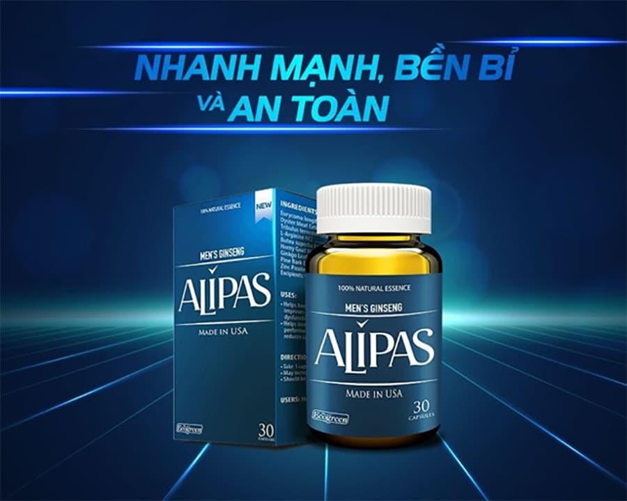 Thuốc sâm Alipas platium trị xuất tinh sớm