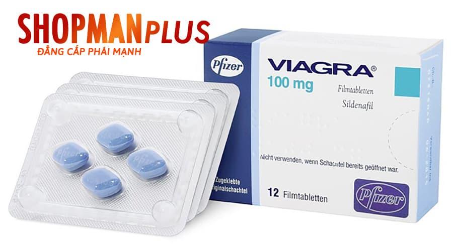 Viagra thuốc tăng cường sinh lý nam hiệu quả
