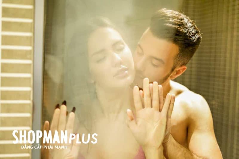 Các tư thế quan hệ trong phòng tắm thú vị cho vợ chồng