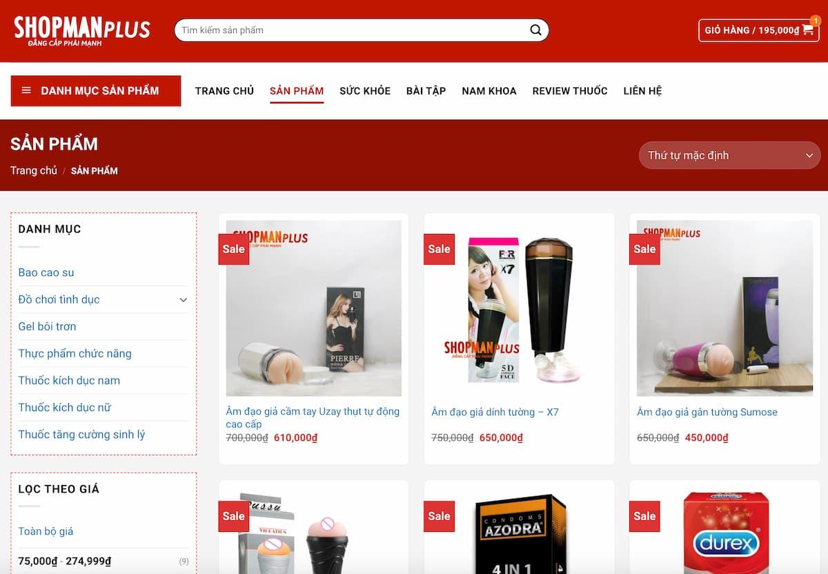 Hướng dẫn mua hàng trên Shop Man Plus - ảnh 1