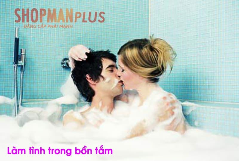 Làm tình trong bồn tắm
