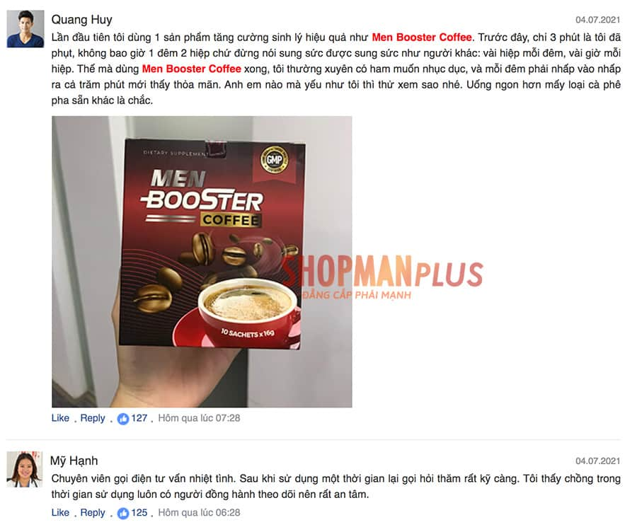 Review Men Booster Coffee - ảnh 3