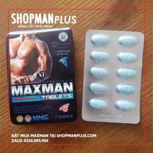 Thuốc kích dục nam Maxman 3800mg