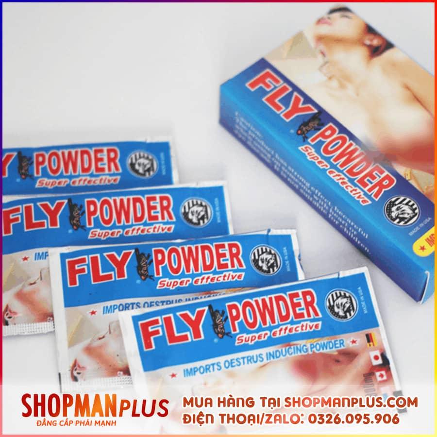 thuốc kích dục nữ fly powder dạng bột