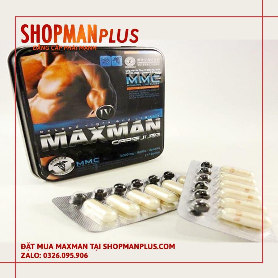 Thuốc tăng cường sinh lý nam Maxman chính hãng