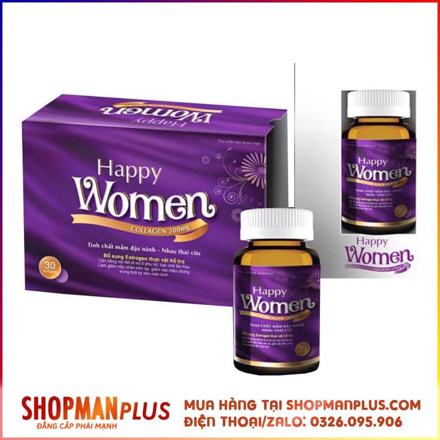 Happy Women - Thuốc tăng cường sinh lý nữ, đẹp da