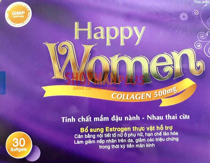 Thành Phần thuốc tăng sinh lý nữ Happy Women