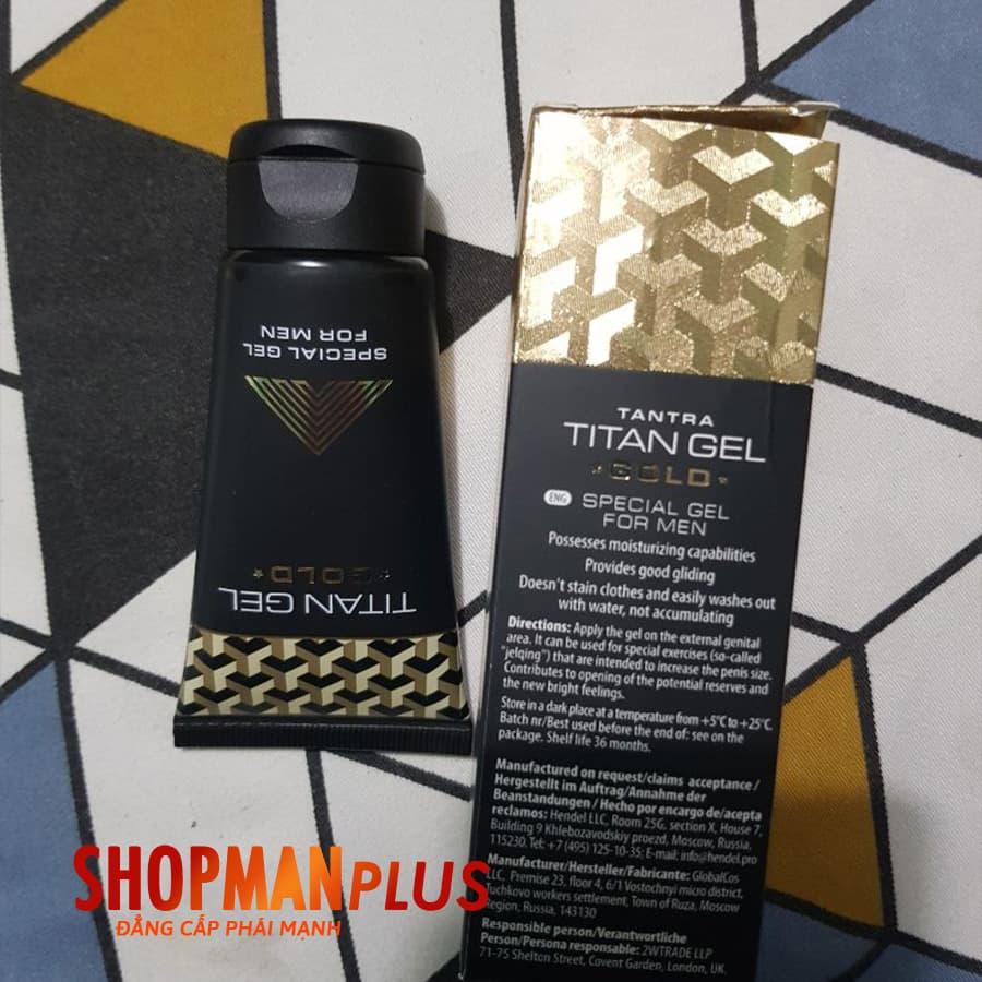 Titan Gel Gold Chính Hãng - ảnh 5