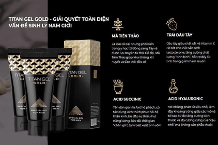 Titan Gel Gold Chính Hãng - ảnh 8