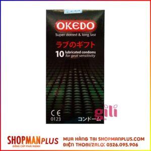 Bao cao su Okedo kéo dài thời gian quan hệ - Hộp 10 cái