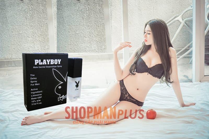 Lưu ý trong quá trình sử dụng chai xịt Playboy