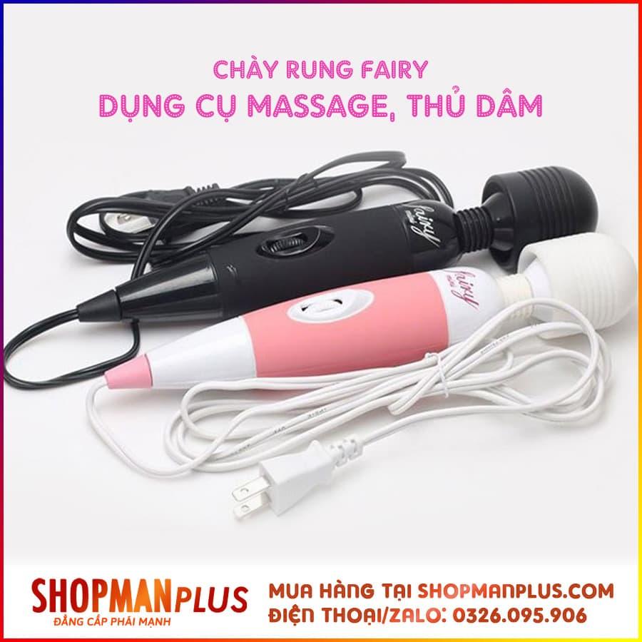 Chày rung Fairy Nhật, Massage âm đạo cực thích