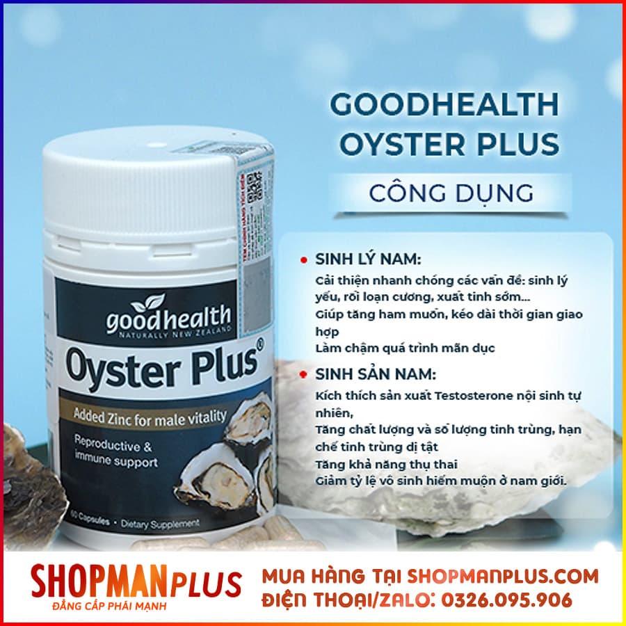 Công dụng của Oyster Plus GoodHealth