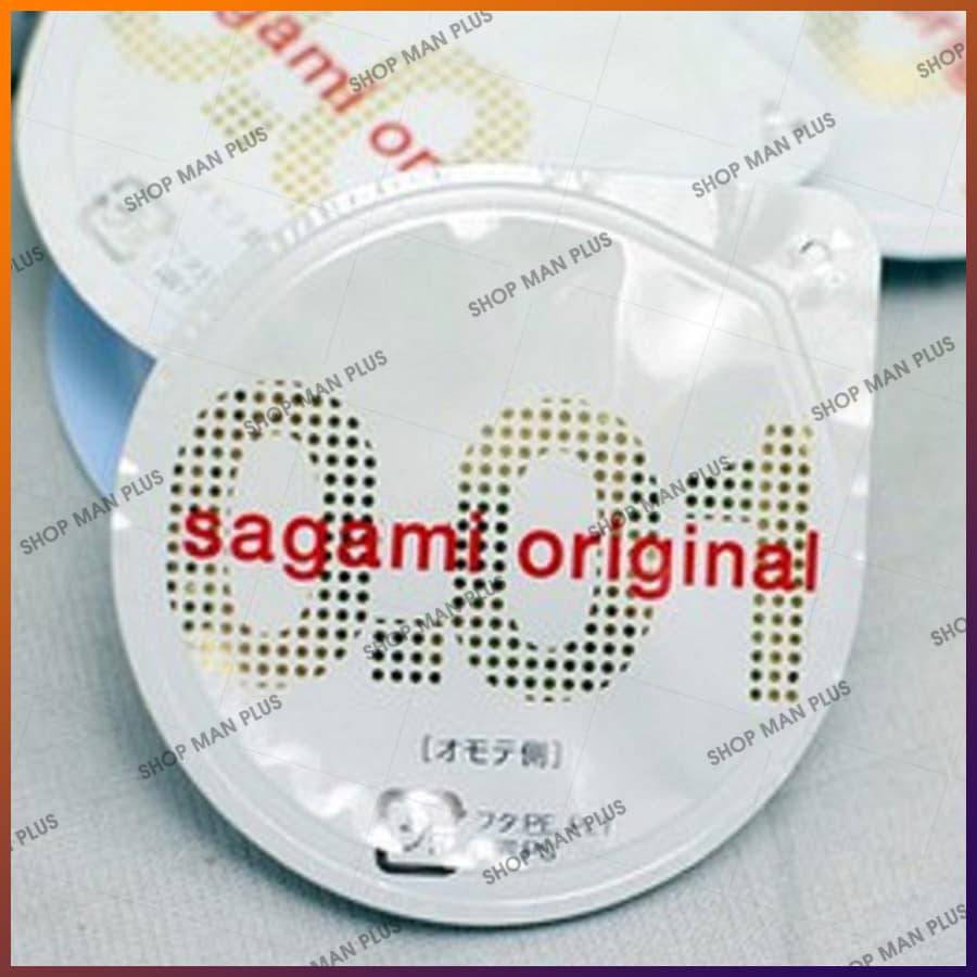 Bao cao su Sagami Original 0.01 - hộp 5 cái - ảnh 3