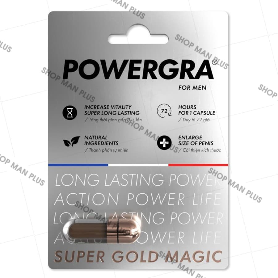 Viên uống Powergra Super Gold Magic - ảnh 1