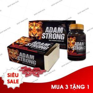 Viên uống Adam Strong - Bổ thận, tráng dương, tăng cường sinh lý