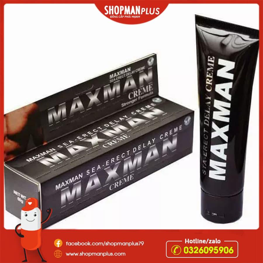 gel tăng kích thước maxman