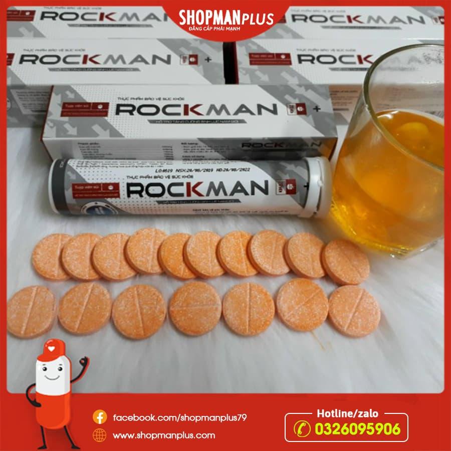 Viên sủi tăng sinh lý Rockman chính hãng